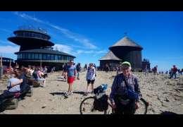 Henryk Chrzanowski, 69 rowerzysta, który wybrał się swoim rowerem w góry