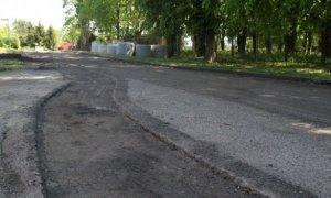Drawsko Pomorskie: Ulica Witkiewicza w przebudowie