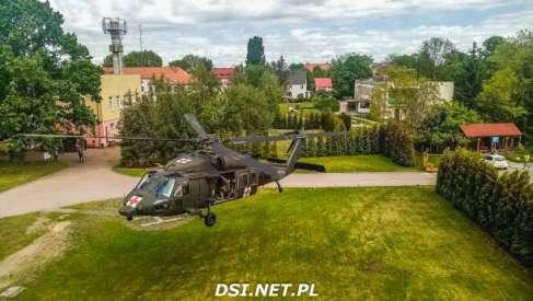 Wiemy dlaczego amerykański Black Hawk lądował przy drawskim szpitalu