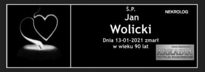 Ś.P. Jan Wolicki
