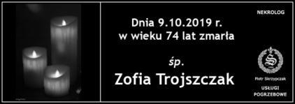 Ś.P. Zofia Trojszczak