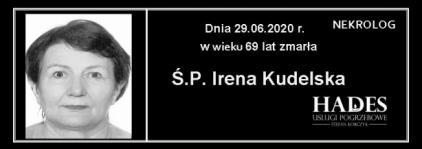 Ś.P. Irena Kudelska