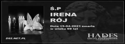 Ś.P. Irena Rój