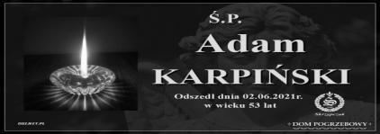 Ś.P. Adam Karpiński