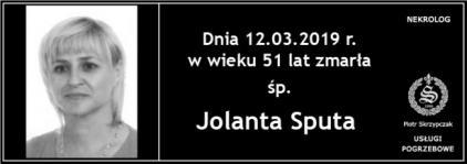 Ś.P. Jolanta Sputa