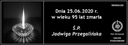 Ś.P. Jadwiga Przegalińska