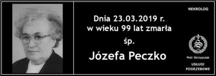 Ś.P. Józefa Peczko