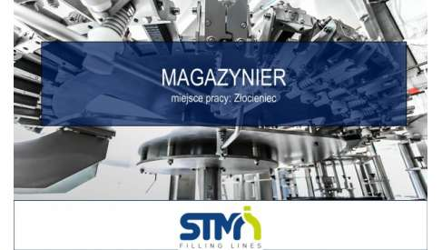Magazynier w STM Sp. z o.o.