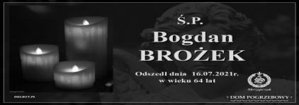 Ś.P. Bogdan Brożek