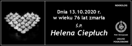 Ś.P. Helena Ciepłuch