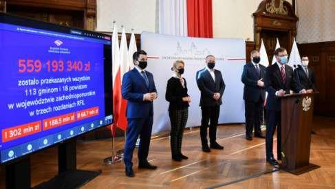 Wojewoda Zachodniopomorski odpowiada: Wszystkie gminy i powiaty otrzymały rządowe środki z RFIL