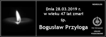 Ś.P. Bogusław Przyłoga