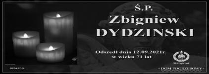 Ś.P. Zbigniew Dydzinski