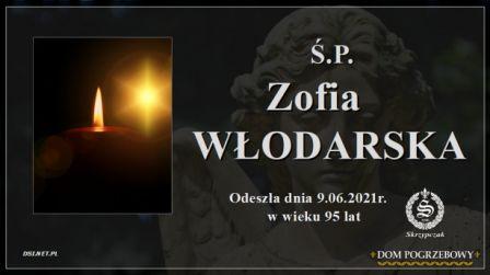 Ś.P. Zofia Włodarska
