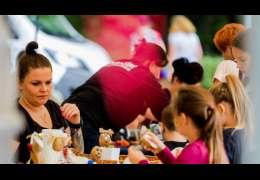 Niedzielny festiwal pieczonego ziemniaka. Foto