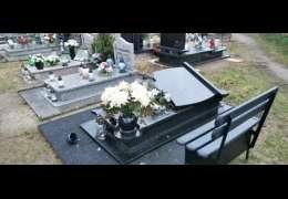 Zniszczenia nagrobków na cmentarzu. Tym razem sprawca ustalony