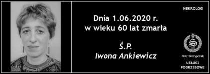 Ś.P. Iwona Ankiewicz