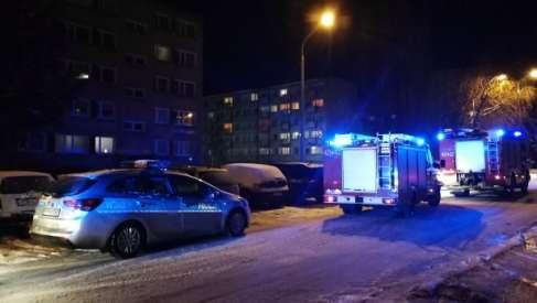 Drawsko: Osoba uwięziona w mieszkaniu potrzebowała pomocy