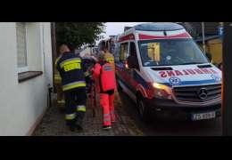Z jednego z mieszkań było słychać wołania o pomoc. Na miejsce wezwano służby ratownicze