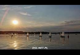 Młodzi żeglarze próbowali swoich sił na jeziorze Siecino