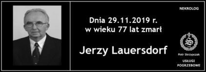 Ś.P. Jerzy Lauersdorf