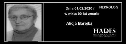 Alicja Barejka