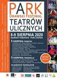 2020-08-08 do 09 PARK Drawski Festiwal Teatrów Ulicznych