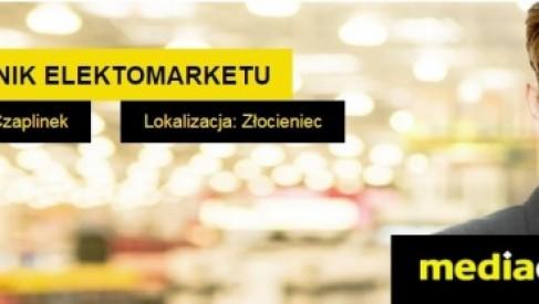 KIEROWNIK ELEKTOMARKETU w MEDIA EXPERT CZAPLINEK i ZŁOCIENIEC