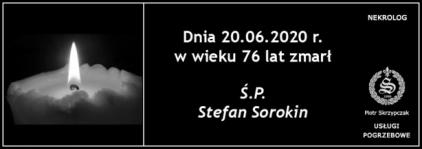 Ś.P. Stefan Sorokin