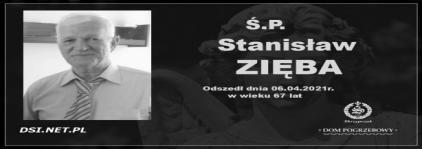 Ś.P. Stanisław Zięba