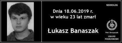 Ś.P. Łukasz Banaszak