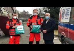 Chemoodporne kombinezony dla ratowników z Kalisza Pomorskiego