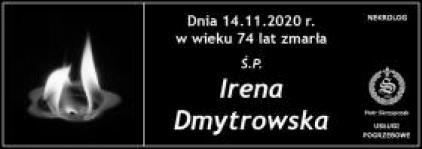 Ś.P. Irena Dmytrowska