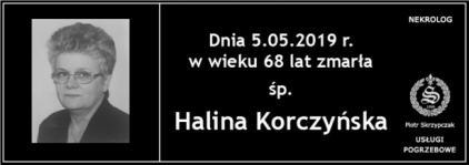 Ś.P. Halina Korczyńska