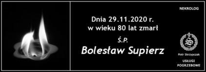 Ś.P. Bolesław Supierz
