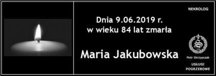 Ś.P. Maria Jakubowska