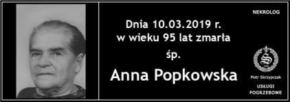 Ś.P. Anna Popkowska