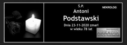 Ś.P. Antoni Podstawski