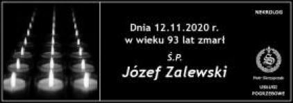 Ś.P. Józef Zalewski