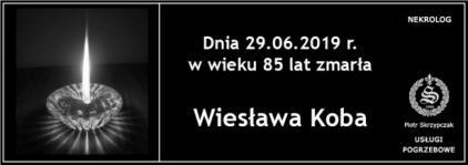Ś.P. Wiesława Koba