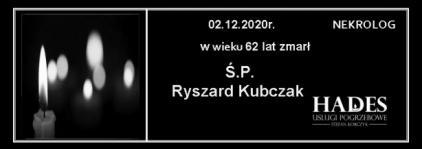 Ś.P. Ryszard Kubczak