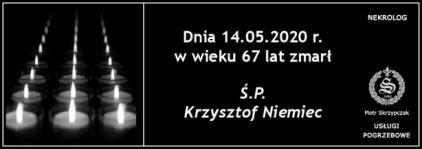 Ś.P. Krzysztof Niemiec