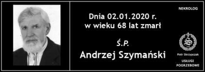 Ś.P. Andrzej Szymański