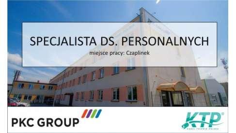 Praca: SPECJALISTA DS. PRESONALNYCH w PKC Group Kabel-Technik-Polska Spółka z o.o.