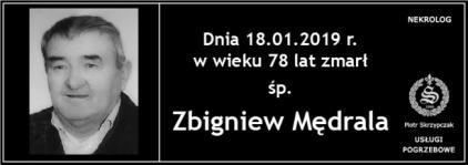 Ś.P. Zbigniew Mędrala