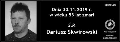 Ś.P. Dariusz Skwirowski