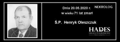 Ś.P. Henryk Oleszczuk