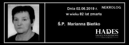 Ś.P. Marianna Bieńko