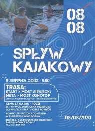 2020-08-08 Spływ Kajakowy - Sołectwo Suliszewo
