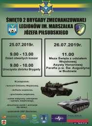 2019-07-25 i 26 Święto 2 Brygady Zmechanizowanej